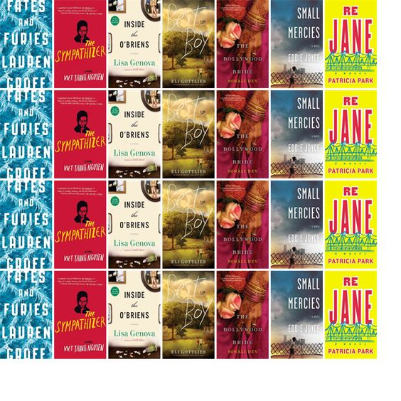 """Wednesday, December 16, 2015: The Oxford Public Library has two new bestsellers and five other new books in the Literature & Fiction section.   The new titles this week include """"Fates and Furies: A Novel,"""" """"The Sympathizer,"""" and """"Inside the O'Briens: A Novel."""""""