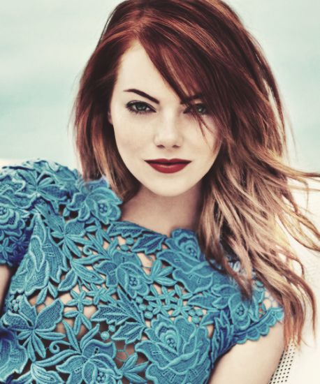 Excellent phrase emma stone blonde hair color pity, that