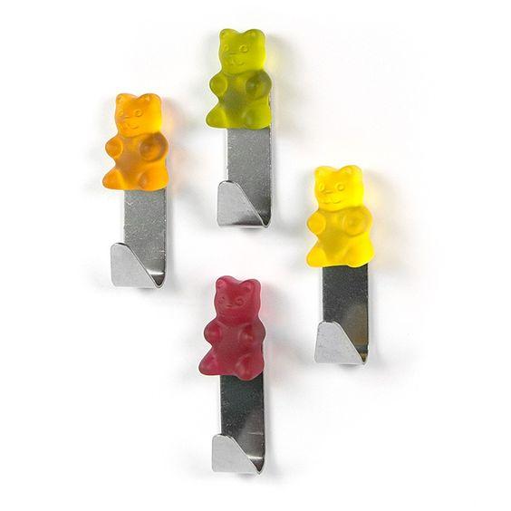 "banjado Magnethaken ""Teddy Hook"" #Magnete #Gummibären #Haken #Magnethaken"