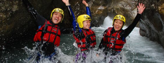 Canyoning Interlaken - Eventidee in Matten bei Interlaken