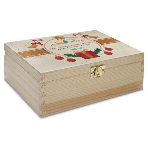 Herbaciarka Prezent Na Swieta Bozego Narodzenia 8712558727 Oficjalne Archiwum Allegro Decorative Boxes Home Decor Decor