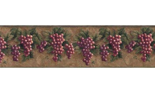 Grape Fruits VC829B Wallpaper Border