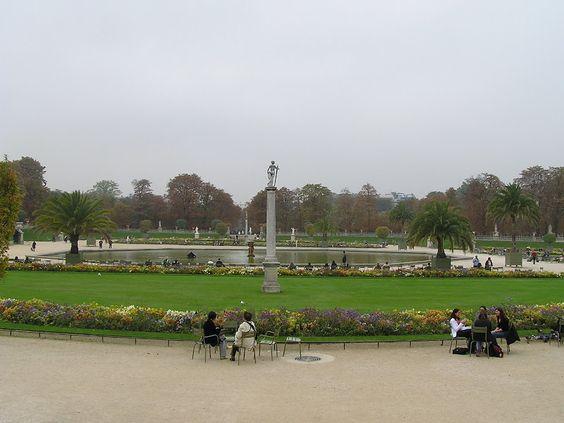 Jardins du #Luxembourg, #Paris #France #BlogdeVoyages elisaorigami.blogspot.com