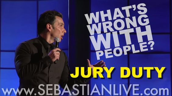 Jury Duty   Sebastian Maniscalco: What's Wrong With People?