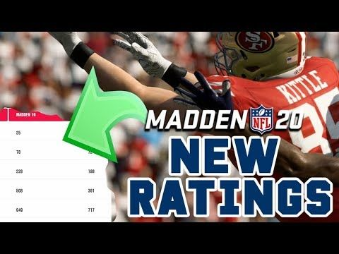 Madden 20 Gameplay Most Underrated Change Player Ratings Stretch Online Work Madden Nfl Sports