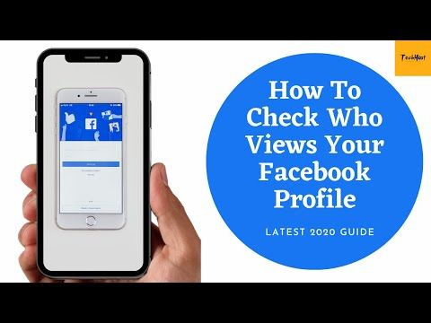 Learn How To See Who Views Your Facebook Profile Latest 2020 Youtube Facebook Profile Who Viewed My Facebook My Facebook Profile