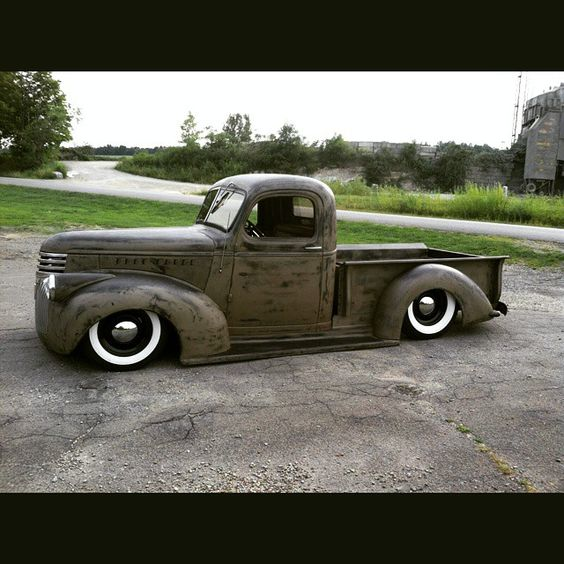 "46 Best Images About Truck Suspension On Pinterest: ""Fantastic Bagged 46 Chevy Truck #hamb #chevrolet #vintage"