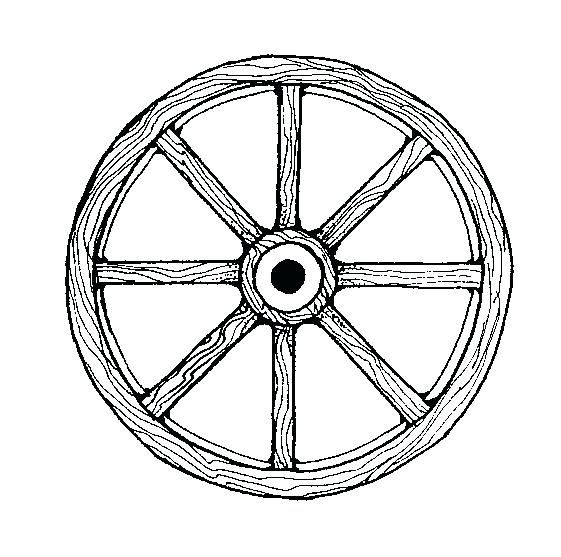 Image Result For Wagon Wheel Coloring Page Wagon Wheel Wheel Wagon