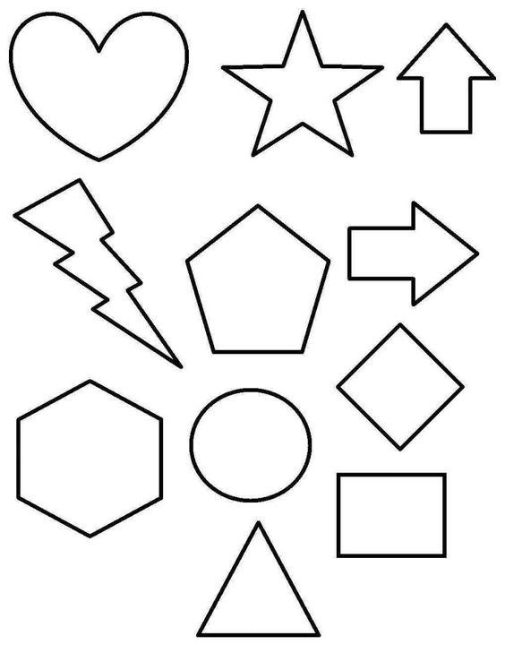 Dibujos geométricos para niños: fotos dibujos - Dibujos de figuras geométricas