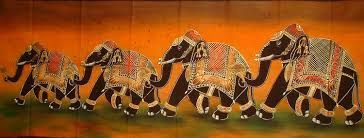 Image result for decorated elephants