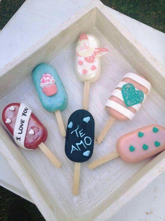 Pin by Tyra🌻🙉🍒 on Paletas | Valentine cake pop, Popsicles cake, Lolly cake