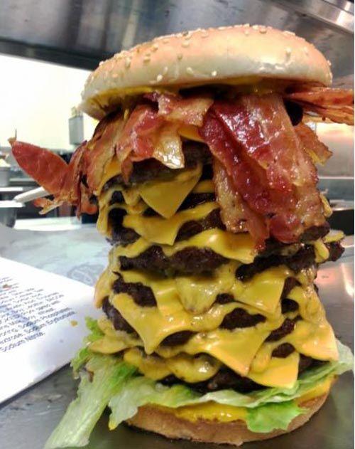 Image result for huge burger