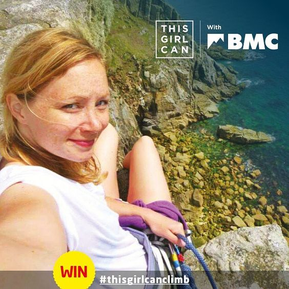 """@teambmc's photo: """"Enter your photos into our competition for a chance to win a climbing session with one of our lovely #teambmc ambassadors, £100 to spend at @gearforgirls, or £50 to spend at @cotswoldoutdoor. Just tag them @teambmc @gearforgirls, @cotswoldoutdoor #thisgirlcan #thisgirlcanclimb www.thebmc.co.uk/TGC"""""""