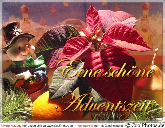 Grußkarte Nr. 23 (Adventskarten)   Adventsgrusskarte mit einem Weihnachtsstern und anderen zum Advent passenden Objekten.