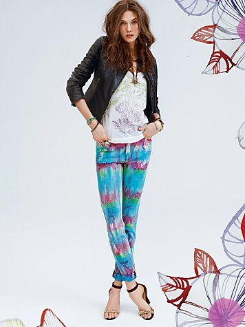 Sorbet Tie Dye Jean  www.freepeople.co...#Repin By:Pinterest++ for iPad#