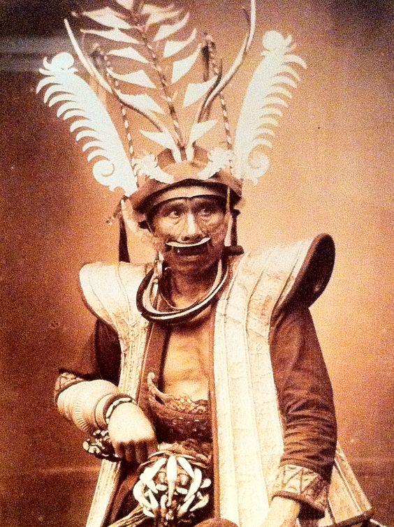 Indonesian headdress