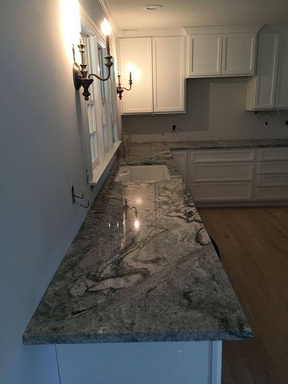 kitchen remodel viscon white granite