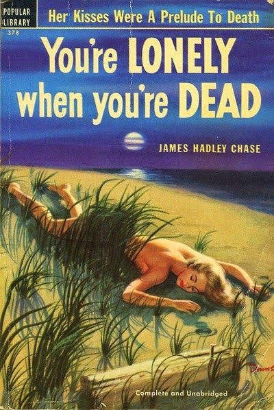 You're lonely when you're dead: