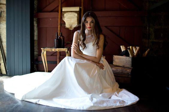 The Gabriella // Moira Hughes // Wedding Dresses