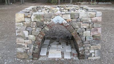 Wood Fired Oven Diary….Dry Stone Base Completed!!