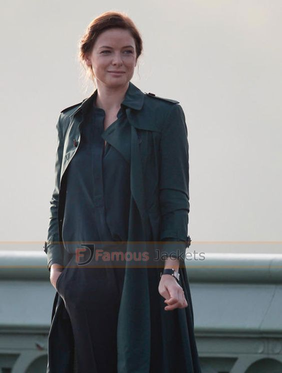 Mission Impossible 5 Rebecca Ferguson Coat For Sale #RebeccaFergusonTrenchCoat