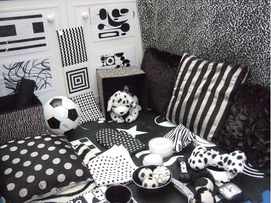 Lovely Black and White Area
