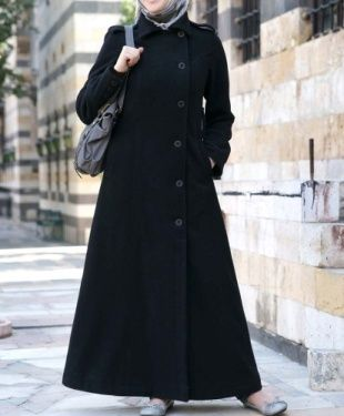 ankle length winter coat | not muslim but I like the ankle length