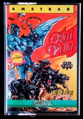Juego Amstrad CPC Cinta - Blood Valley (1987) Español Erbe