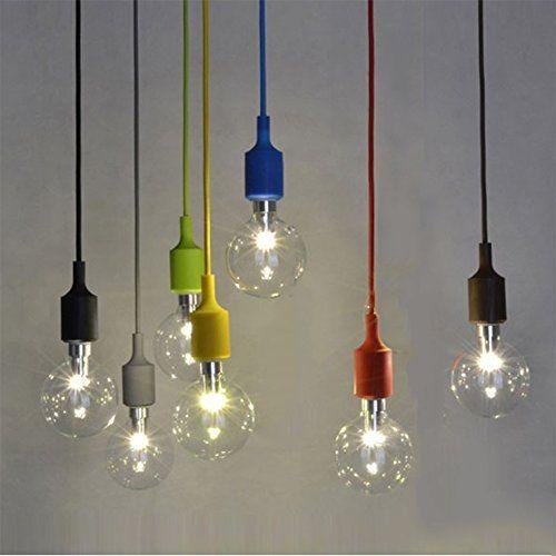 couleur silicone luminaire suspension style europen moderne ikea lampe pendante lampe plafonnier diy - Luminaire Boules Colores
