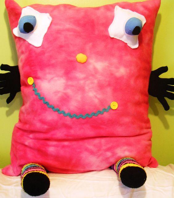 Large Fleece Hug Me Style Pillow. $39.99, via Etsy.