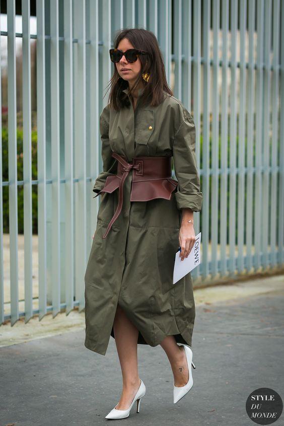 Paris Fashion Week Fall 2017 Street Style: Natasha Goldenberg
