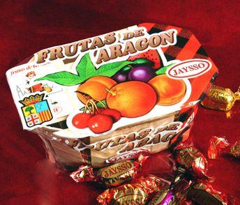 FRUTAS DE ARAGON la excelente calidad de la fruta del campo aragones y su tradicion chocolatera, se han aliado en esta receta, que se ha c...