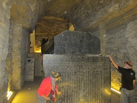 The Amazing Massive Megalithic Boxes In The Serapeum At Saqqara Egypt