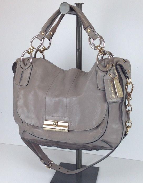 coach gray patent leather handbag iqiq  coach grey leather purse