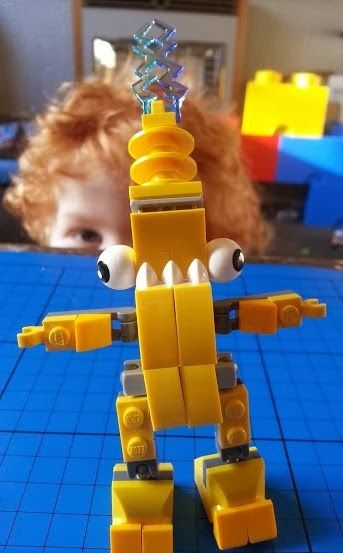 Lego Mixels 41507 Zaptor character - LEGO Mixels preview and review