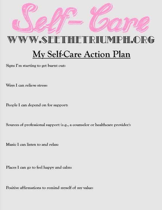 Liczba obrazów na temat Social Work Burnout na Pintereście 17 - sample action plan