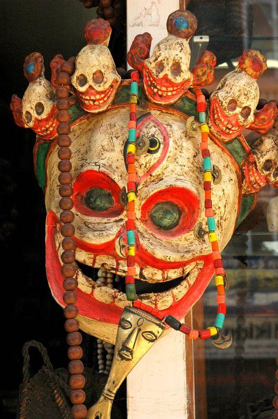 Death Mask, Nepal