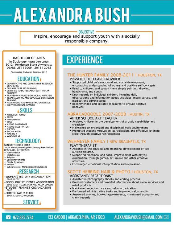My fancy new résumé! Wooo! Graduate School Pinterest Fancy - resume graduate school