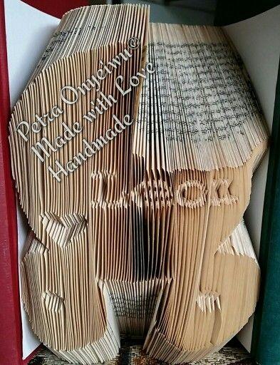 Bücher Falten, Book Folding, Book Art