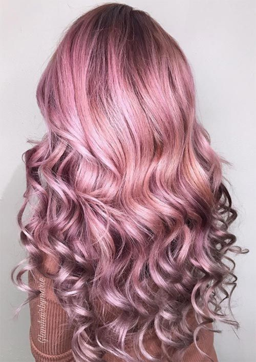 53 Coolest Winter Hair Colors To Embrace In 2020 Winter Hairstyles Unnatural Hair Color Cool Hair Color
