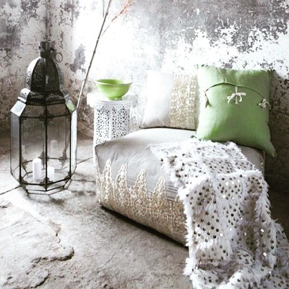 Rustic vibes with a moroccan charm