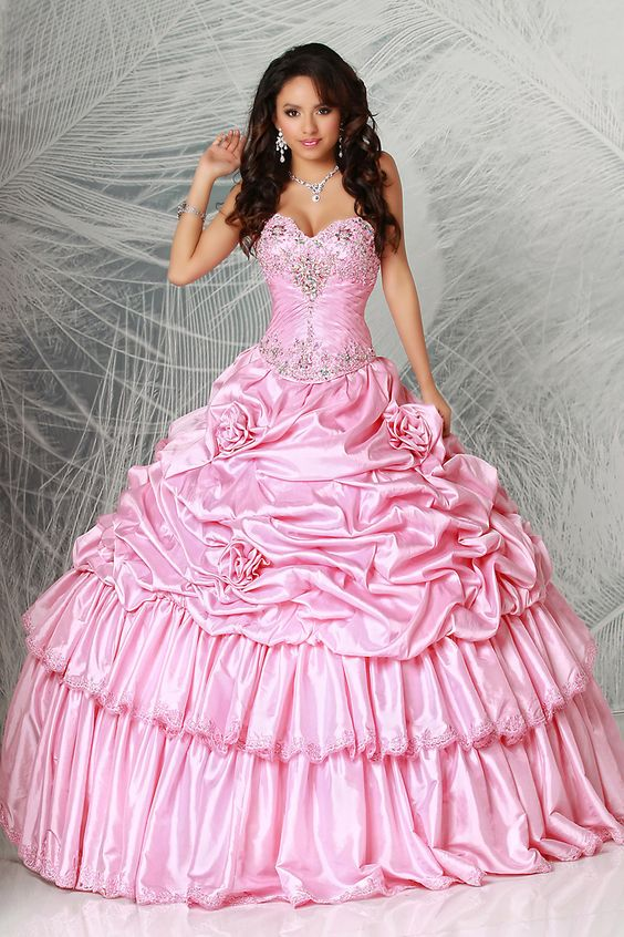 MZ0065 Fashion 2014 Free Shipping Sweetheart Ball Gowns Beads Corset Quinceanera Dresses Gowns $182.69
