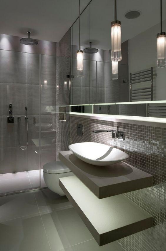 Lampadari Per Il Bagno.Lampadari Bagno 10 Idee Sospese Irresistibili Toilet