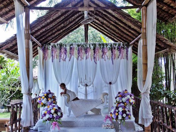 Pelamin Malay Wedding Garden