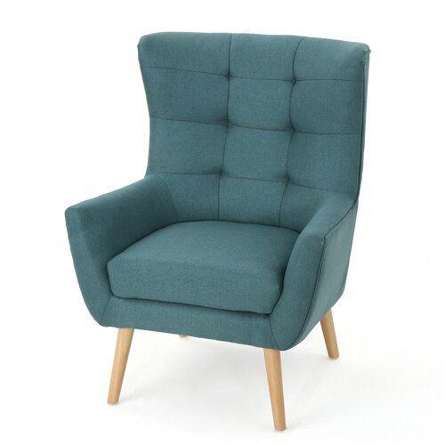 Paxton Wingback Chair Wingback Chair Dining Room Chair Cushions Blue Sofa Chair