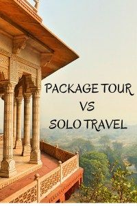 PACKAGE TOUR VS SOLO TRAVEL. http://www.lilytravella.com/2015/09/26/package-tour-vs-going-it-alone/