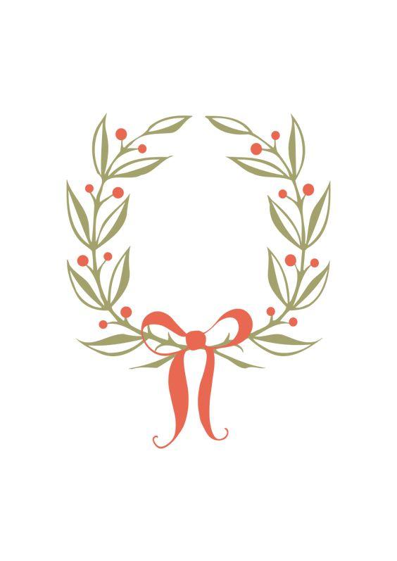 Half Wreath Svg Free : wreath, Circle, Ornamental, Wreath, Ribbon, Files,