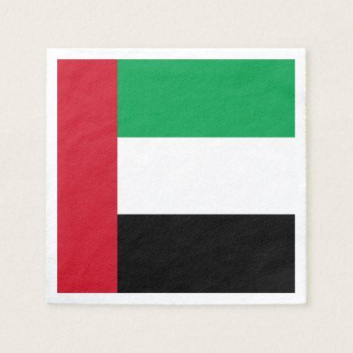 United Arab Emirates Flag Napkins Zazzle Com Emirates Flag United Arab Emirates Emirates