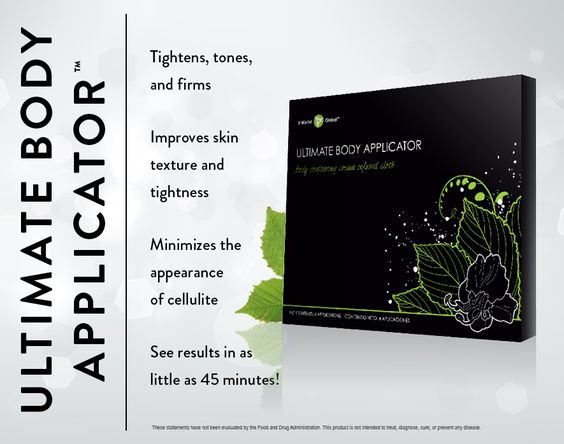 Ultimate Body Applicator // See ultimate tightening, toning, and firming results wherever you need them most in as little as 45 minutes and progressive results over 72 hours. www.myitworks.com