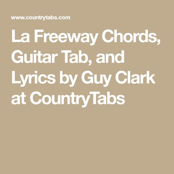 L A Freeway Chords Full Hd Pictures 4k Ultra Full Wallpapers
